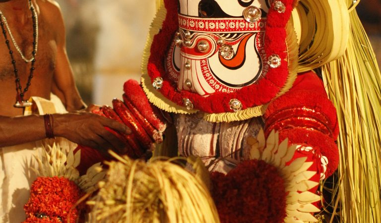 Pottan Theyyam: Indian Art and Cultural Documentation